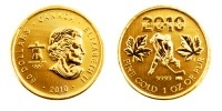 1 Unze Gold Maple Leaf, Serie Vancouver Olympics 2010