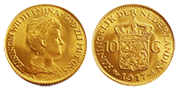 10 Gulden Gold