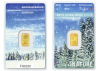 1 Gramm Argor Heraeus, Limited Edition WINTER