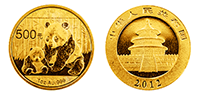 1 Unze Gold China Panda 2012