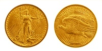20 Dollar Gold St. Gaudens Double Eagle