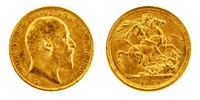 1 Pfund Gold Sovereign, Edward VII