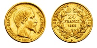 AKTION: 20 Francs Gold Napoleon