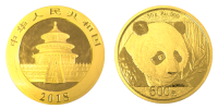 30 Gramm Gold China Panda 2018