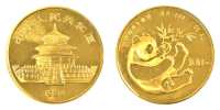 1 Unze Gold China Panda 1984