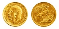 1 Pfund Gold Sovereign, George