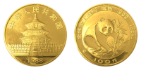 1 Unze Gold China Panda 1988