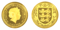 1 Unze Gold The Lions Royal Arms of Gibraltar 2018