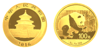 8 Gramm Gold China Panda 2016
